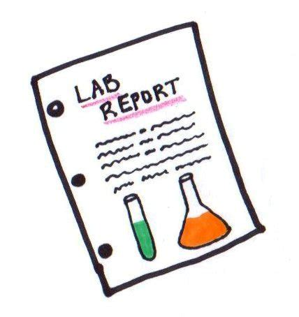 How to write a good lab report pdf